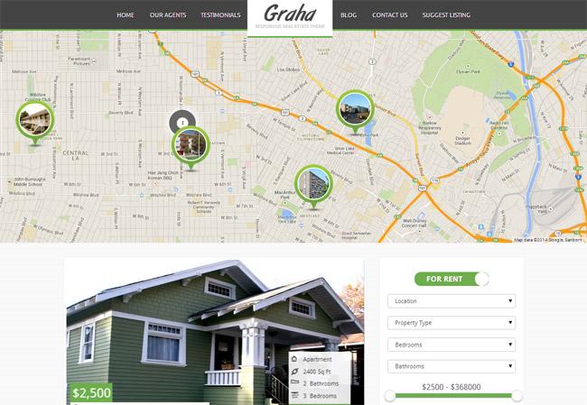 Graha WordPress Theme