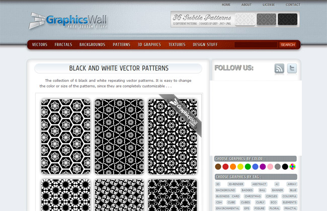 Graphics Wall  Background Patterns