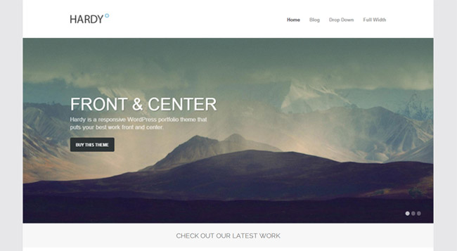 Hardy WordPress Theme