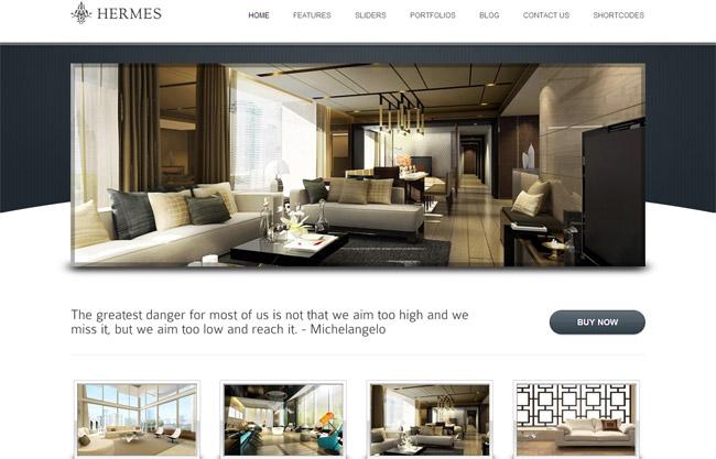 Hermes WordPress Theme