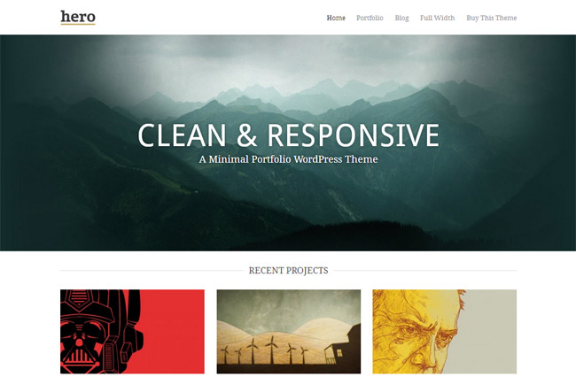 Hero WordPress Theme