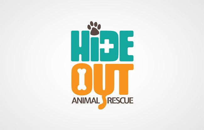 Hideout Animal Rescue Logo