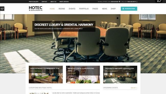 Hotec WordPress Theme