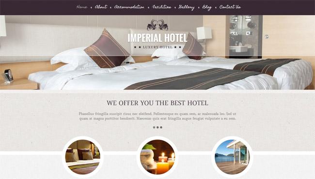Imperial WordPress Theme