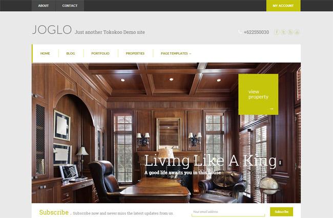 Joglo WordPress Theme