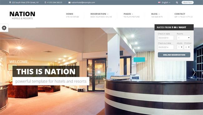Nation WordPress Theme