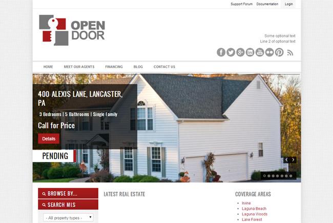 OpenDoor WordPress Theme