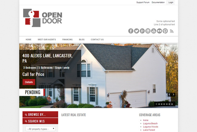 OpenDoor WordPress Theme