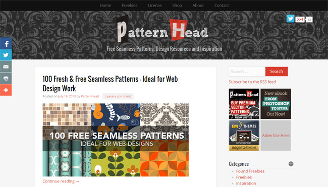 Pattern Head Background Patterns
