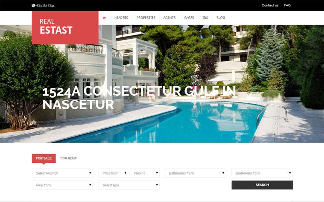 RealEstast WordPress Theme