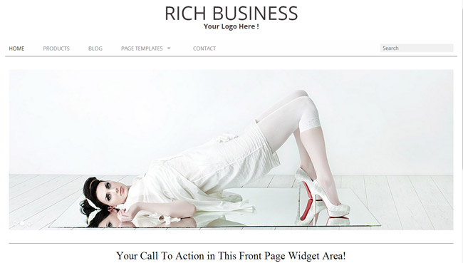Rich Business WordPress Theme