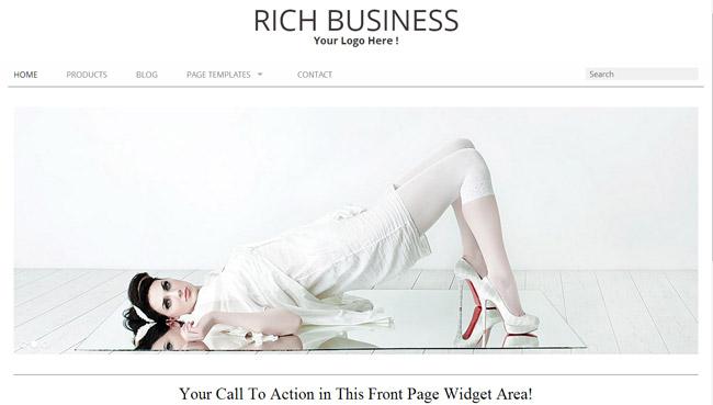 Rich Business WordPress Theme