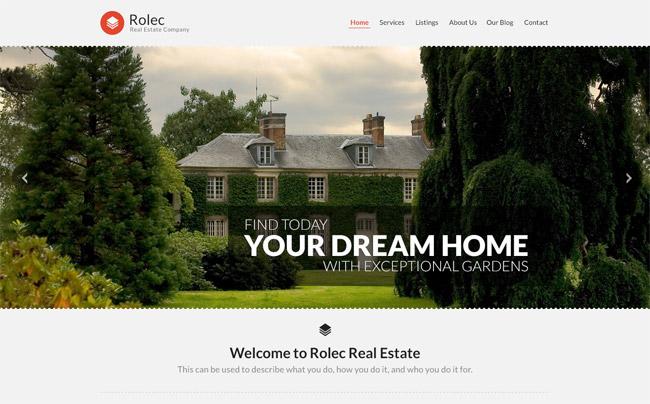 Rolec WordPress Theme