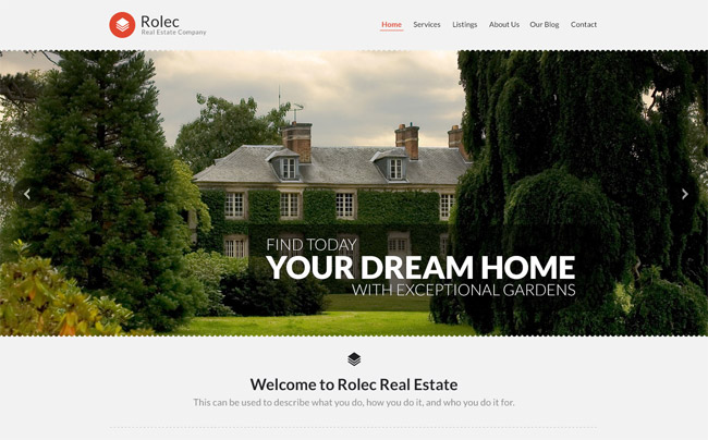 Rolec WordPress Theme