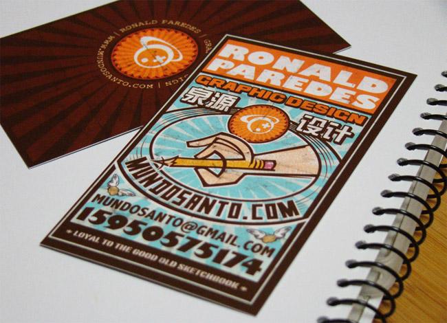 Ronald Paredes Business Card
