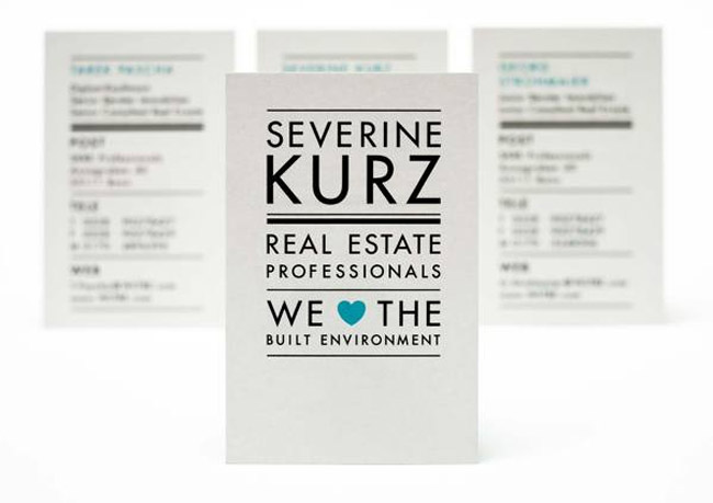 Severine Business Card