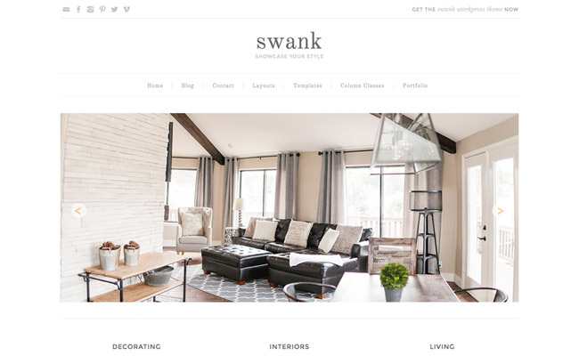 Swank WordPress Theme