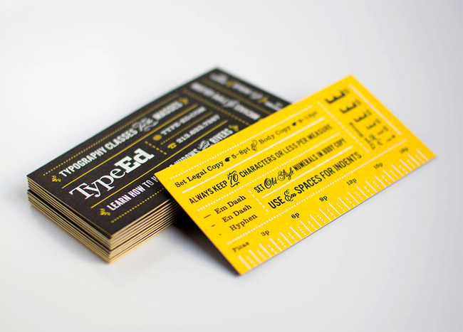 TypeEd Business Cards