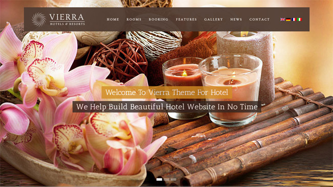 Vierra WordPress Theme