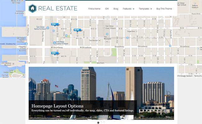 WP Pro Real Estate 3 WordPress Theme