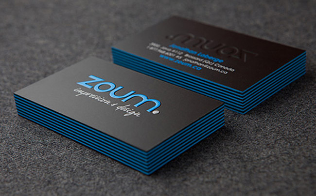 Zoum Business Cards
