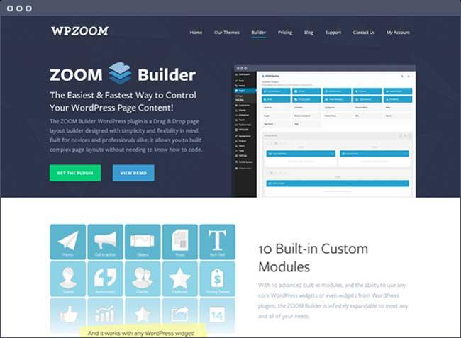 Zoom Builder plugin