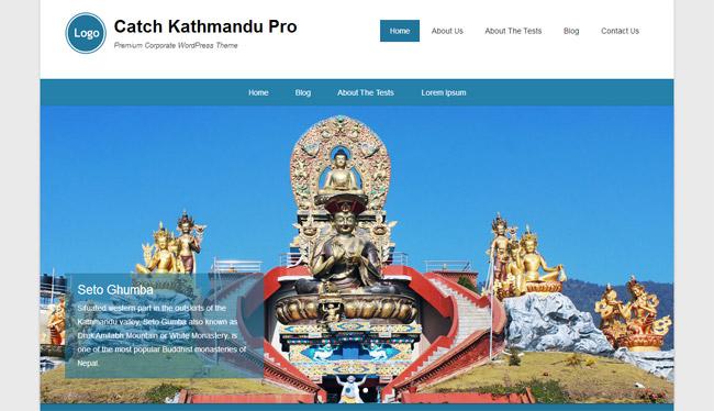 Catch Kathmandu Free WordPress Theme