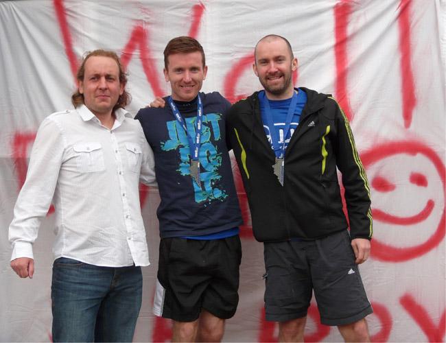 After Edinburgh Marathon