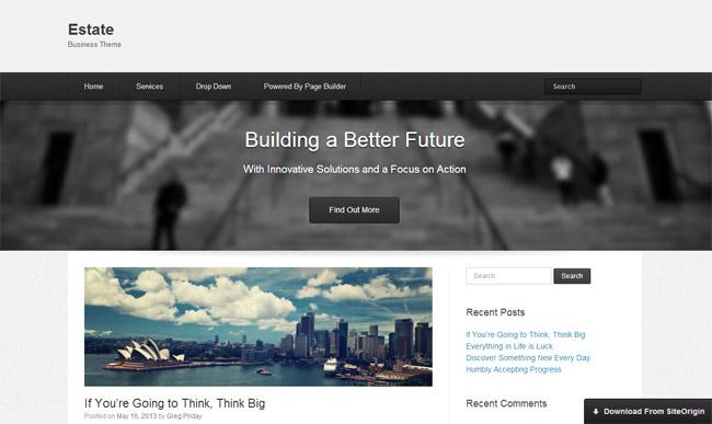 Estate WordPress Theme