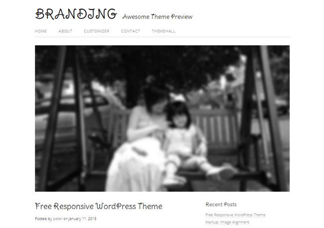 Family WordPress Theme