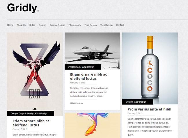 Gridly Free WordPress Theme