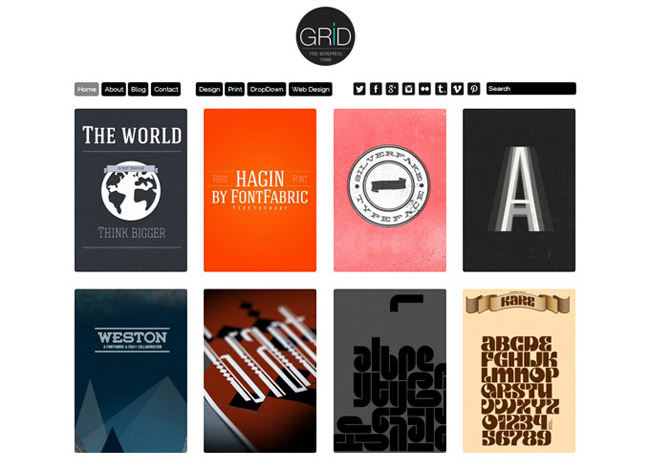 Gridtheme Free WordPress Theme