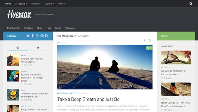 Hueman Free WordPress Theme