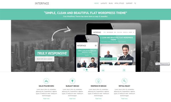 Interface Free WordPress Theme