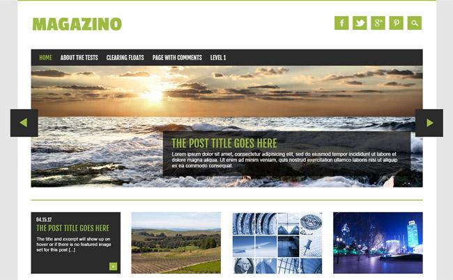Magazino Free WordPress Theme