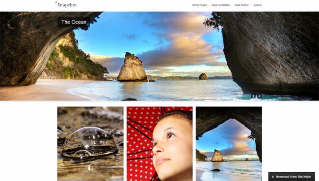 Snapshot Free WordPress Theme