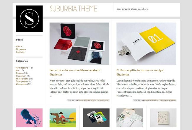 Suburbia Free WordPress Theme