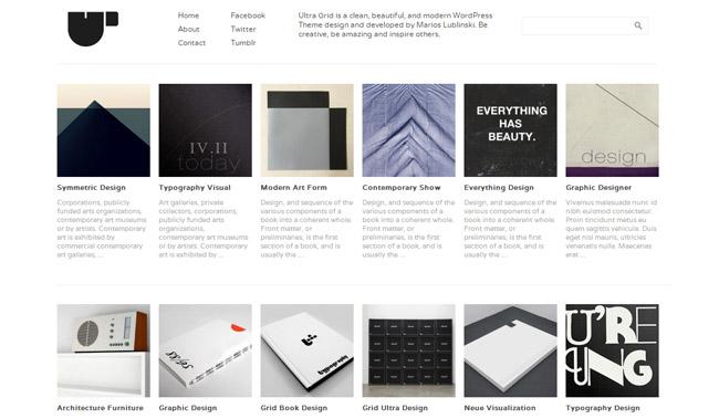 Ultra Grid WordPress Theme