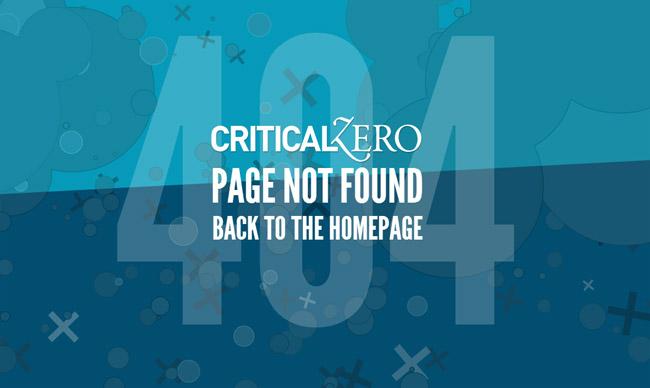 Critical Zero Error Page
