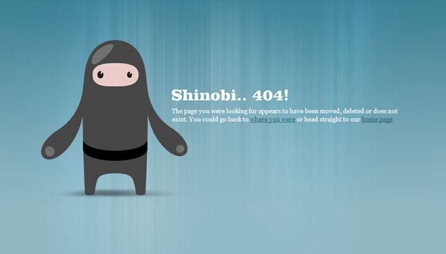 CSS Ninjas Error Page