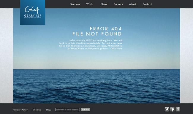 Designrazzi Error Page