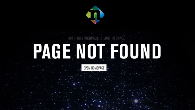 Novation Error Page
