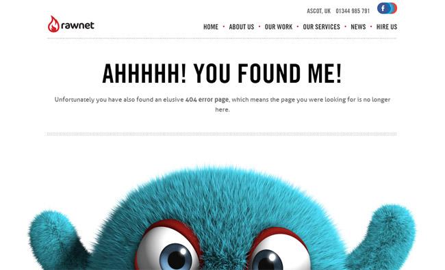 Rawnet Error Page