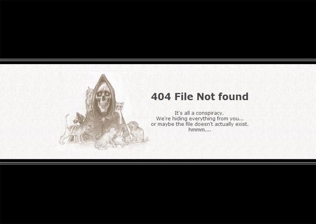 Scythe Error Page