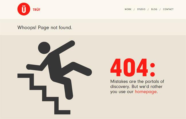 Trüf Error Page