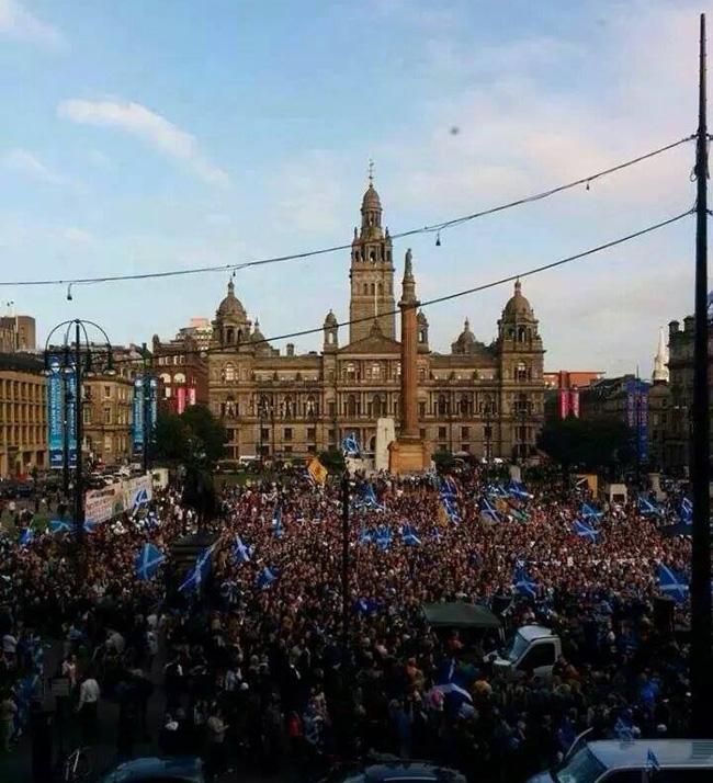 George Square Celebration