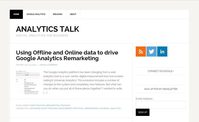 Analytics Talk