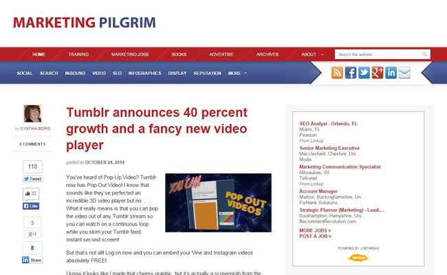 Marketing Pilgrim