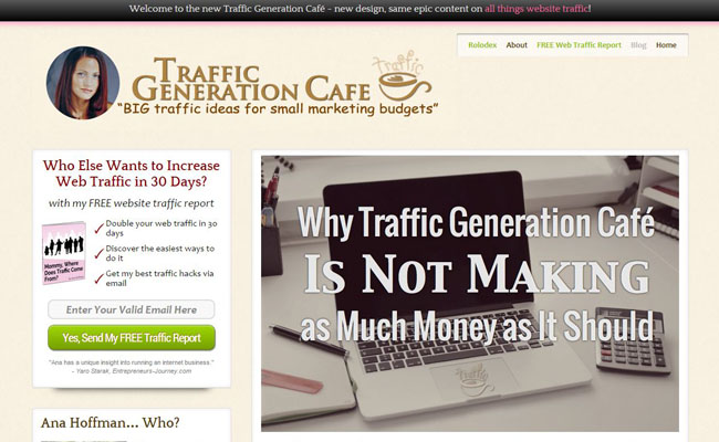 Traffic Generation Cafe