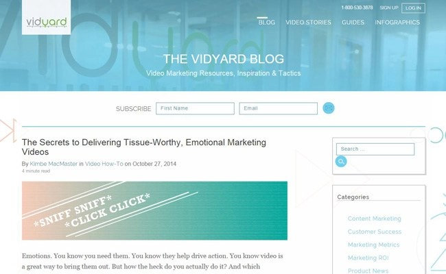 The Vidyard Blog